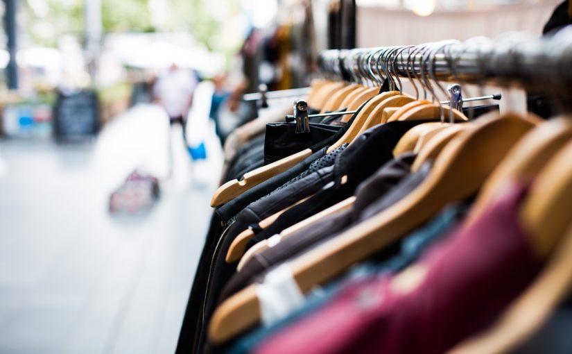 stojaki sklepowe odzieżowe